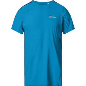 Berghaus Super Tech Camiseta Base Manga Larga Cuello Barco Hombre, adriatic